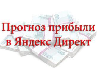 Прибыль Яндекс Директ
