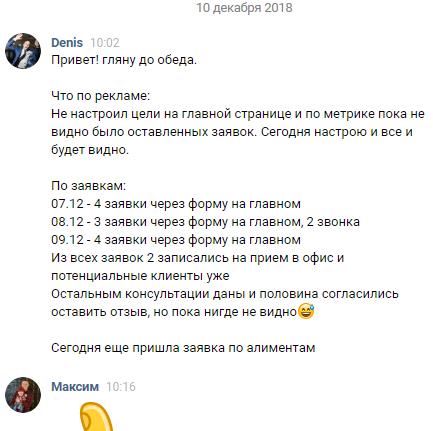 Статистика Правограм 12.2018